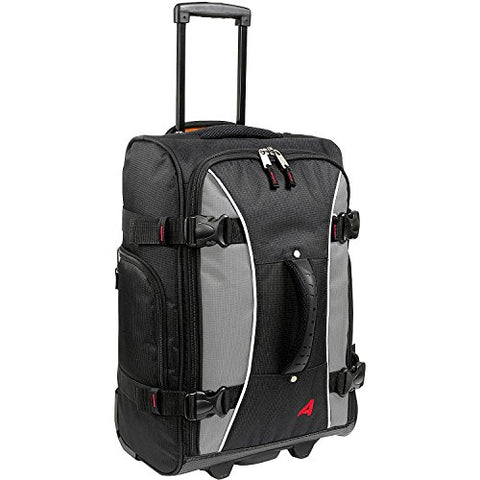 Athalon Luggage 21 Inch Hybrid Travelers Bag (One Size, Gray/Black)