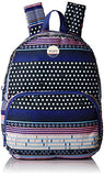Roxy Women's Always Core Backpack, Dress Blues Small Wintery Geo ERJBP03536