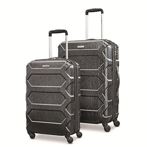 "Samsonite Magnitude Lx 2 Piece Nested Hardside Set (20""/24""), Black, Only At Amazon"