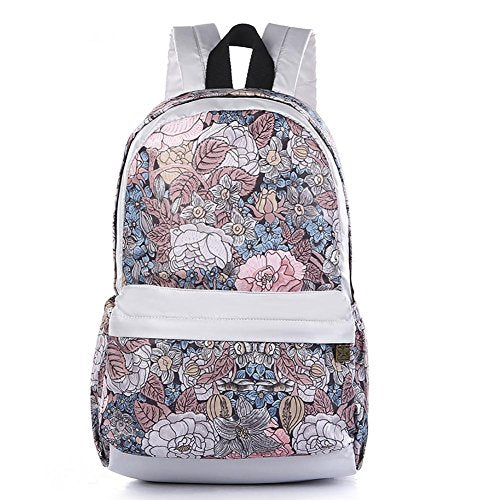 Black Butterfly Women'S Student Backpack For Daypack Backpack School Bag White Red , V