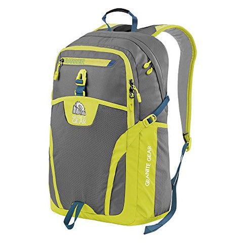 Granite Gear Campus Voyageurs Backpack - Flint/Neolime/Bleumine by Granite Gear
