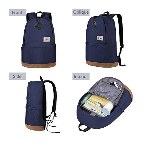 HEXIN Student Book Bag Laptop Backpack with Computer Compartment College Backpack 35L