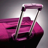 American Tourister Ilite Max Softside Spinner 29, Pink/Purple Stripes