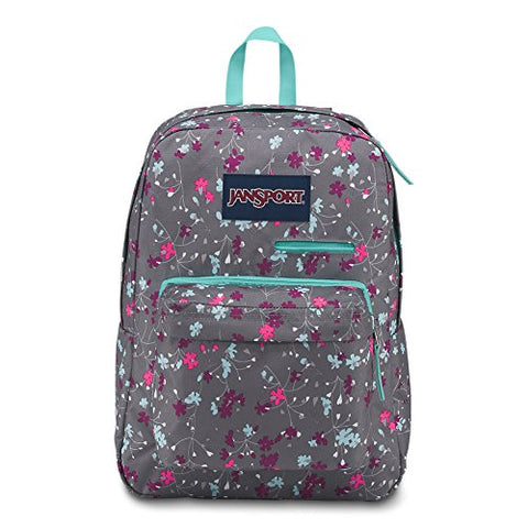 Jansport Digibreak Laptop Backpack - Spring Meadow