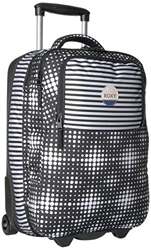 Roxy Women'S Roll Up Carry-On Suitcase, Anthracite Opticity