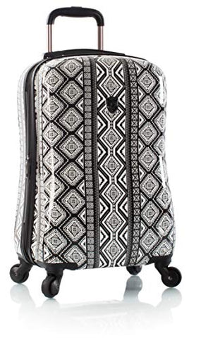 "Heys America Fijian Tribal 21"" Carry-on Spinner Luggage With TSA Lock"
