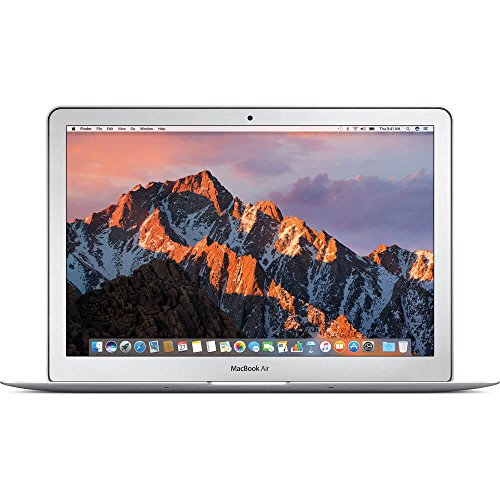 "Apple 13"" MacBook Air, 1.8GHz Intel Core i5 Dual Core Processor, 8GB RAM, 128GB SSD, Mac OS, Silver, MQD32LL/A (Newest Version)"