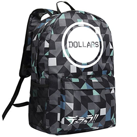 Gumstyle Drrr Durarara Backpack Plaid School Bag Classic Schoolbag
