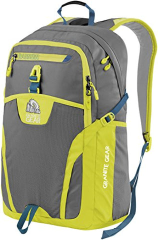 Granite Gear Campus Voyageurs Backpack - Flint/Neolime/Bleumine