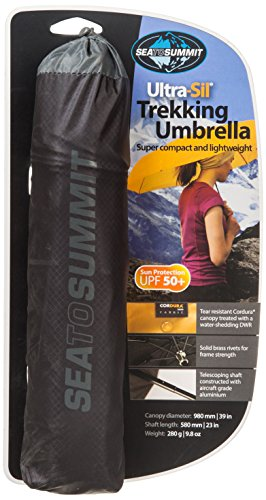 Sea To Summit Siliconized Nylon Trekking Umbrella - Black