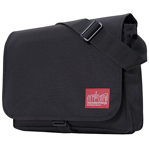 Manhattan Portage Deluxe Computer Bag, 15-Inch, Black