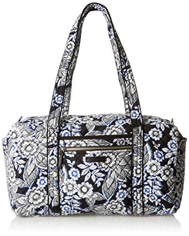 Vera Bradley Women'S Iconic Small Duffel, Snow Lotus