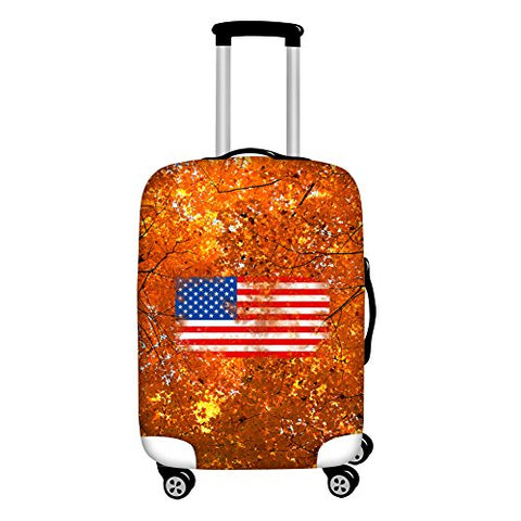 "Youngerbaby 3D Flag Spandex Travel Suitcase Elastic Luggage Protective Covers 18""-30"""