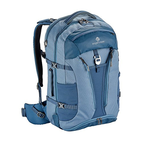 Eagle Creek Global Companion 40L Unisex Backpack Travel Water Resistant Mulituse-17in Laptop Carry-On Luggage, Smokey Blue
