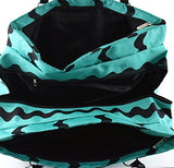 Zig Zag 3 Compartment Triple Compartment Travel Duffel Overnight Carry On Weekender Zz8020
