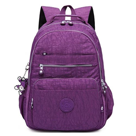 Cute Junior School Book Bag for Lightweight Travel Backpack Waterproof Fashion Ventilated