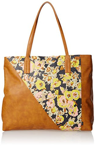 Volcom Juniors Staycation Tote, Brown, One Size