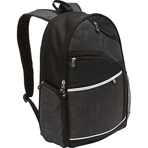Bellino Matrix Plus Scan Express Computer Backpack, Black