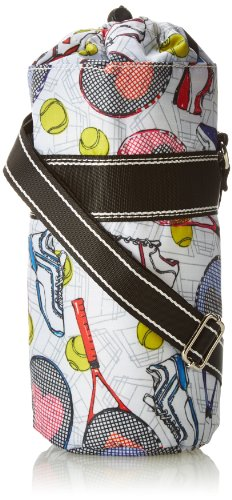 Sydney Love Tennis Water Bottle Messenger Bag,Multi,One Size