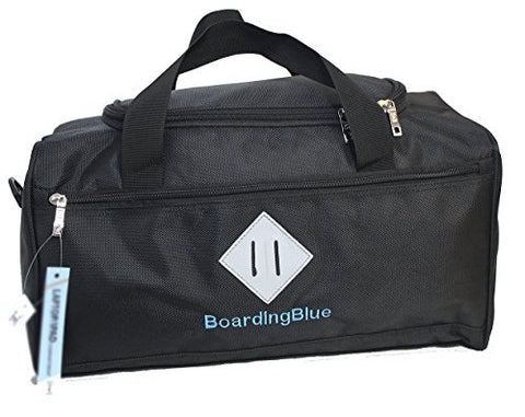 BoardingBlue NEW United Airlines FREE Personal Item Under seat (Black)