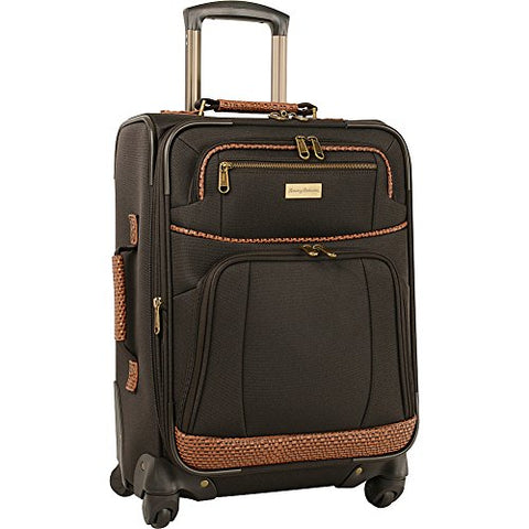 Tommy Bahama Luggage Set, Dark Brown