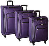 American Tourister At Pops Plus 3 Piece Nested Set, Purple, One Size