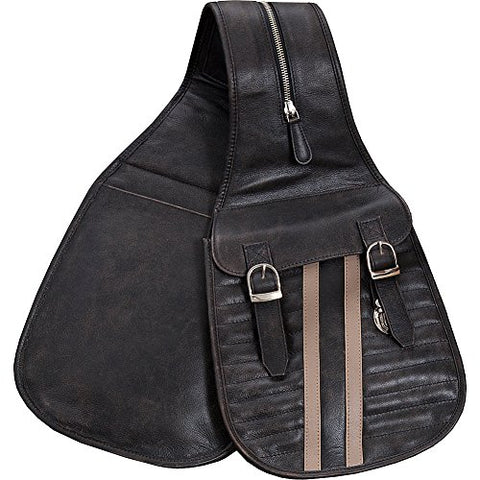 Scully Riding Gear / Track Saddle Bag (Black)