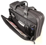 Mobile Edge 16-Inch Premium Nylon Laptop Briefcase - Black (MEBCNP1)