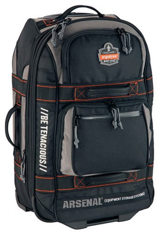 Arsenal 5125 Rolling Carry On Luggage Bag