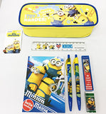 "Licensed Despicable Me Minions 12"" Small School Backpack w/Stationery and Pouch"