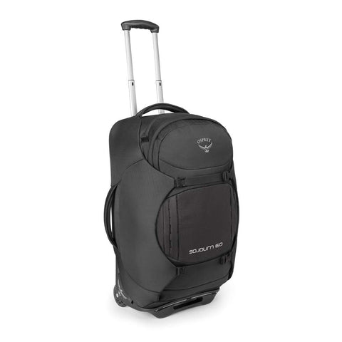 Osprey Packs Sojourn Wheeled Luggage, Flash Black, 60 L/25""