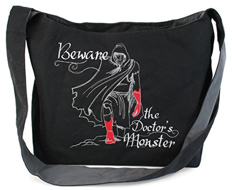Dancing Participle Frankenstein Embroidered Sling Bag