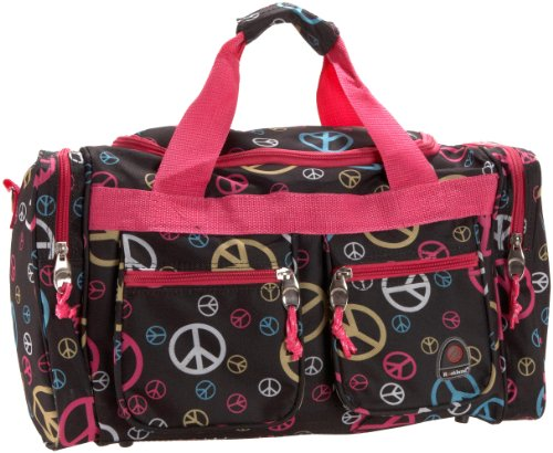 Rockland Luggage 19 Inch Tote Bag, Peace Multi, One Size