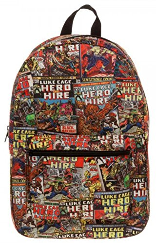 Marvel Luke Cage Sublimated Backpack 13 X 18In