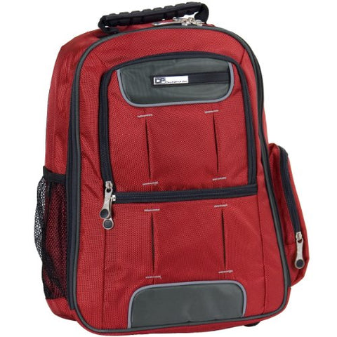 California Pak Luggage Satellite, 18 Inch, Deep Red