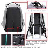 Anti-Theft Business Laptop Backpack School Bag With Usb Charging Port For College Student Work