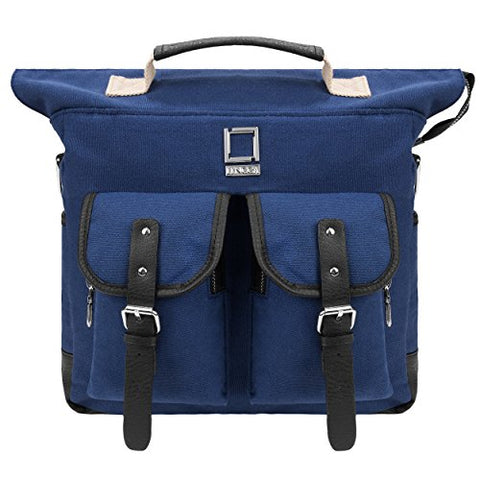 Lencca Mini Phlox Backpack Royal Blue Carry On Bag Fits Microsoft Surface Pro 4 , Pro 3 , Surface 2