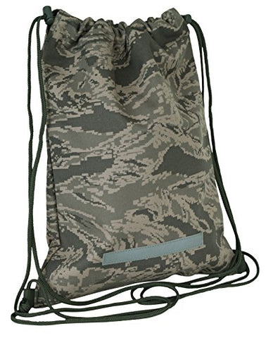 Code Alpha Camouflage Drawstring Backpack, Digital Camouflage