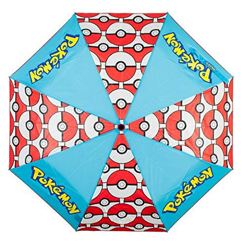 Bioworld Pokemon Pokeball Panel Umbrella