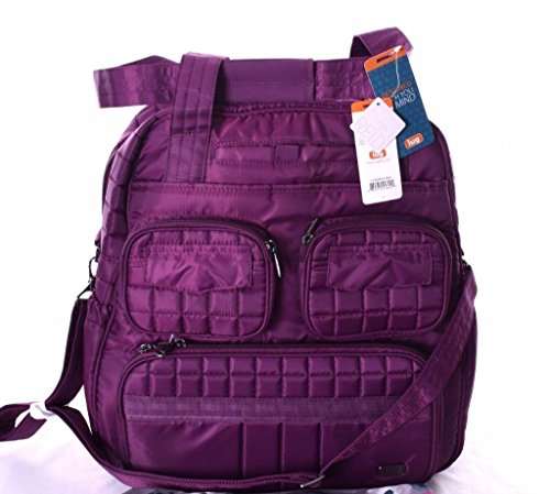 Lug Women's Puddle Jumper Overnight/Gym Duffel Bag, Berry Purple, One Size