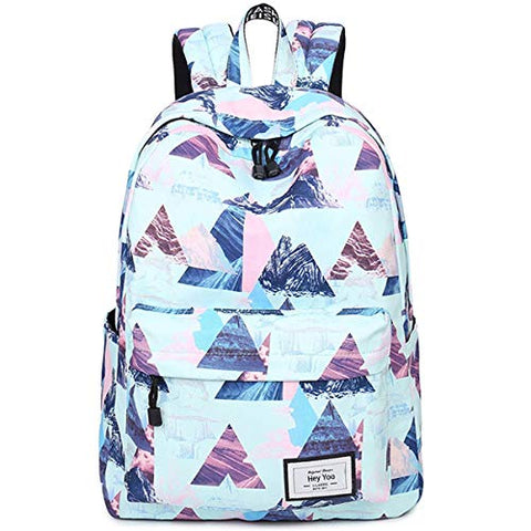 Hey Yoo HY650 Women Fashion Casual Waterproof Travel Laptop Daypack Cute School Bag Backpack for Girls