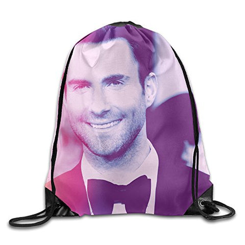 Adam Levine Drawstring Backpack Sport Bag