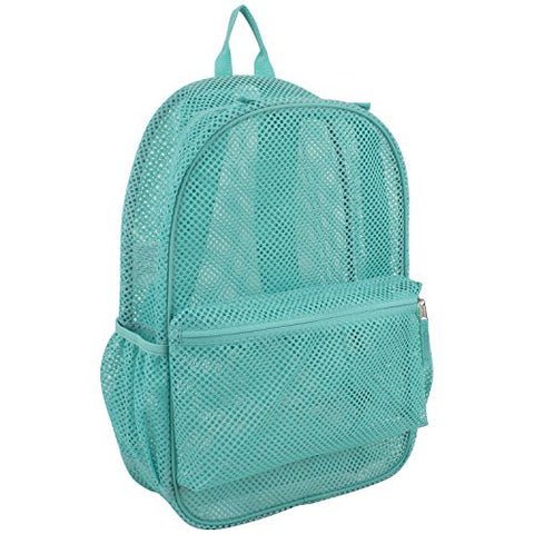 Eastsport Mesh Backpack, Turquoise