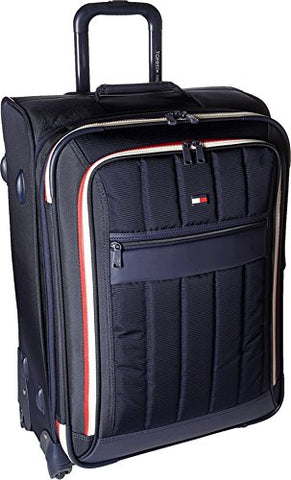Tommy Hilfiger Classic Sport 25 Inch Expandable Luggage, Navy/Navy, One Size