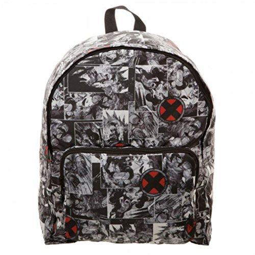 Official Marvel X-Men Wolverine Packable Backpack - Folds Into It'S Own Pouch!