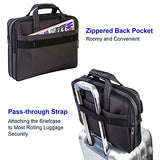 Laptop Bag 15.6 Inch,Water Resistant Briefcase, 15Inch Expandable Messenger Shoulder Bag With