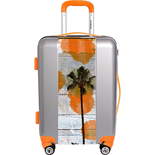 "Ugo Bags California Dreaming By Irena Orlov 26.5"" Luggage (Silver)"