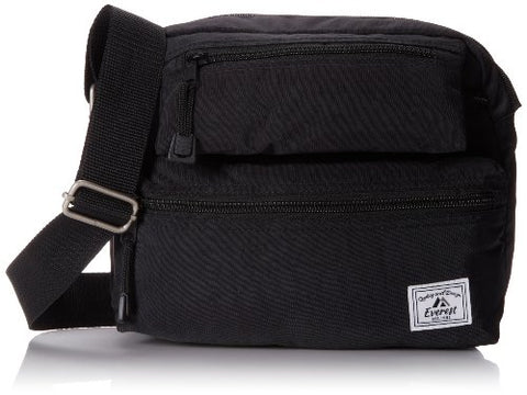 Everest Cross Body Bag, Black, One Size
