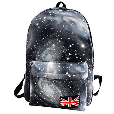 Hot Sale! Unisex Teen Boys Girls Fashion Galaxy Personalized Backpack Teenagers School Bags