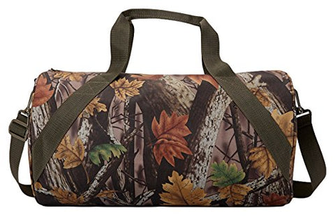 Ultraclub 5562 Sherbrook Camo Small Duffel - Camouflage, One Size Fits Most
